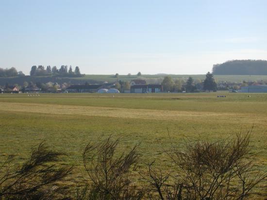 Le paysage visible à la sortie du bus